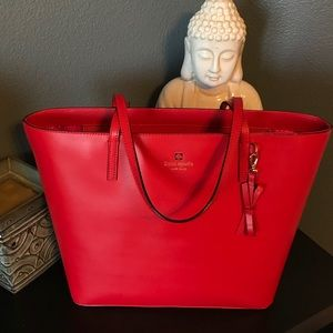Classic Red Kate Spade tote